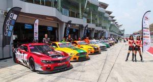 TA2 Asia go racing at Sepang F1 International circuit Malaysia