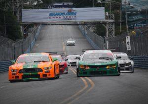 The beautiful Street Circuit of Bangsaen